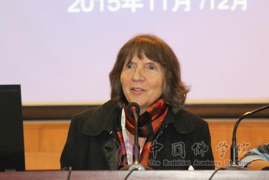 德国扬 阿斯曼 阿莱达 阿斯曼教授赴中国佛学院讲学