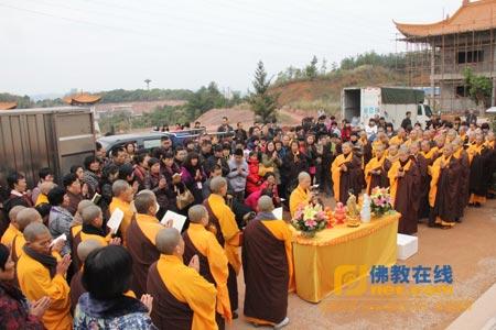 祈福—广州千佛塔寺启建华严法会普愿世界和平