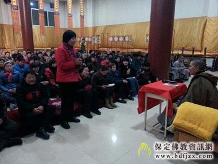 佛七—河北省保定市清苑观音寺举办冬季佛七