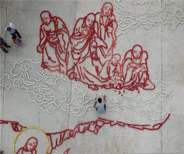 佛教剪纸图案大全图解