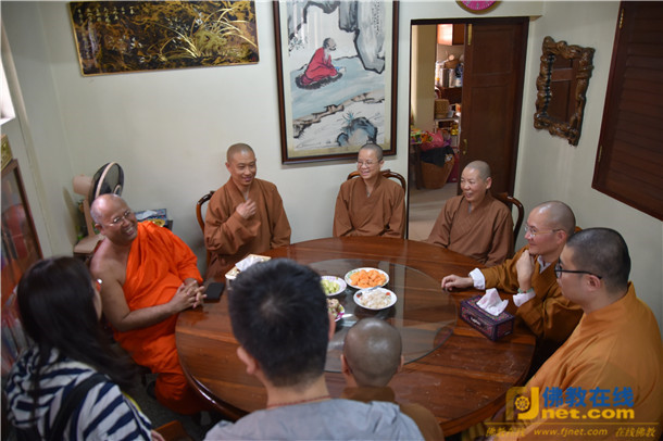 bob注册:福建佛学院代表团一行赴泰共商佛教教育交流与合作