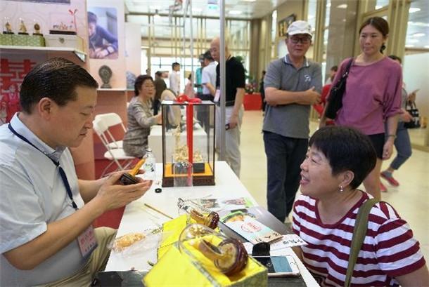 北京非遗文化展在高雄佛光山登场-港澳台教界内容