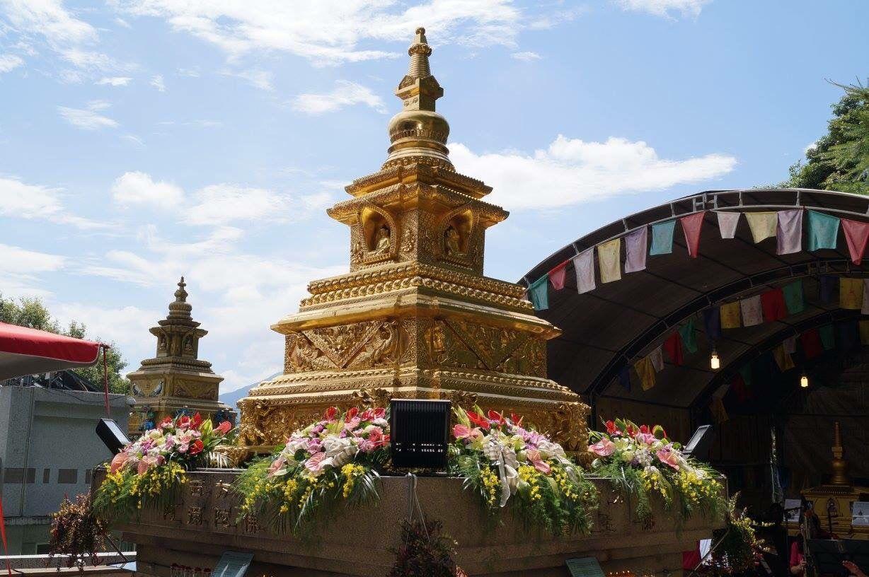 世界和平吉祥塔台湾安奉八周年庆活动隆重举行