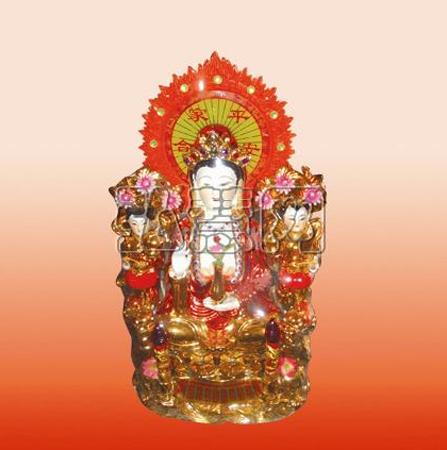 供应18寸中国红坐观音像-招聘-佛教在线