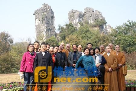浙江省杭州市宗教团体代表赴广西南宁考察(图)