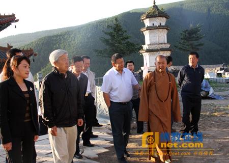 山西省佛教协会会长,五台山佛教协会会长,大圣竹林寺法主妙江法师