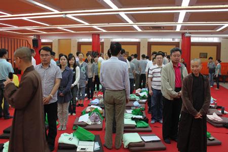 扬州文峰寺与南京大学合办 生命即当下 正念禅修营活动