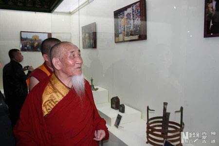 莫图庙全国重点文物保护单位揭牌,博物馆落成庆典在内蒙古杭锦旗举行.