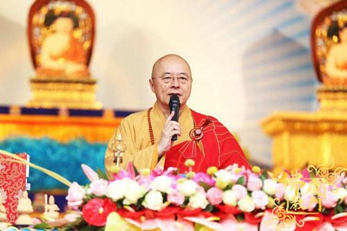 台湾生命电视台台长海涛法师于厦门观音寺弘法三天