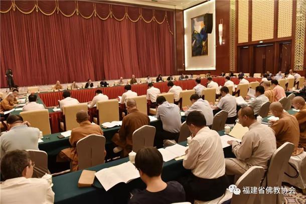 第五届世界佛教论坛三方工作考察总结推进会现场