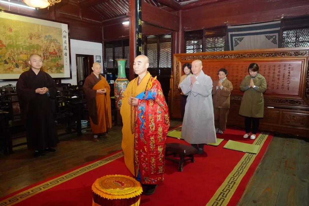 天童禅寺首次传法大典圆满_佛教-法师-禅寺-韩国-求法