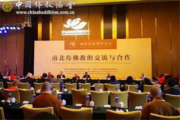 湄澜流域佛教分论坛举行-三大语系佛教界代表、学者各抒己见_佛教-流域-交流-云南-佛教界