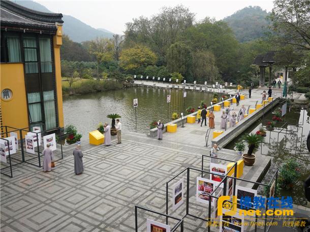 杭州佛学院举行建校二十周年庆典活动_杭州-佛教-法师-佛学院-二十