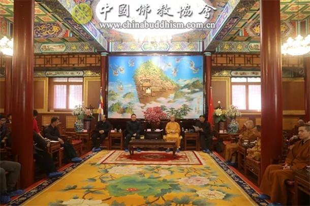 中国佛教协会召开专题会议传达学习党的十九届四中全会精神
