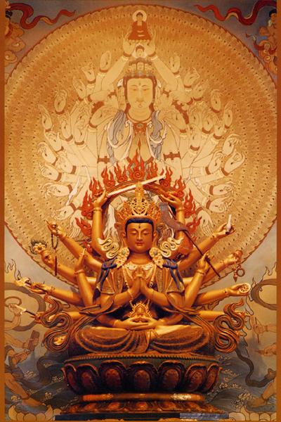 国内资讯_准提佛母精美肖像-图片-佛教在线