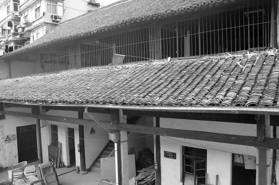 90年老房子框架结构图