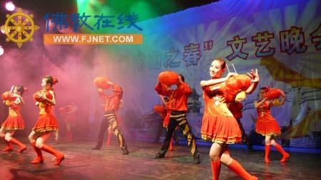杭州青年歌舞团演出的舞蹈《火红的日子》-第十八届 普陀山之春 旅游