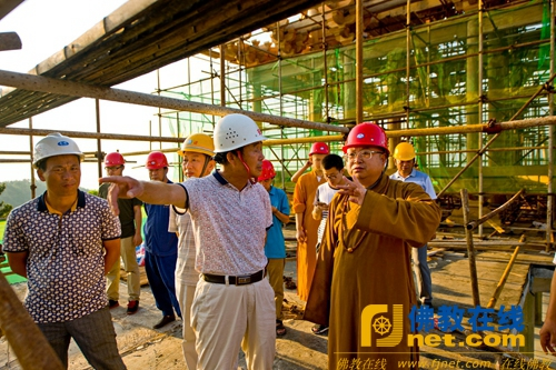 建设东山阁百年基业  彰显五祖寺人文魅力