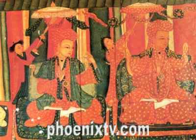 阿里古格壁画以她独特的艺术魅力和美学情调,有别于其它藏区的壁画
