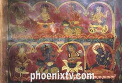 五大藏区风景油画