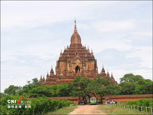 东南亚佛教瑰宝缅甸蒲甘佛塔群(图组)