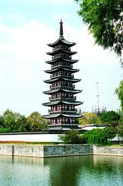 佛教在線 首頁 文化藝術 文化藝術內容  松江方塔是上海市文物保護