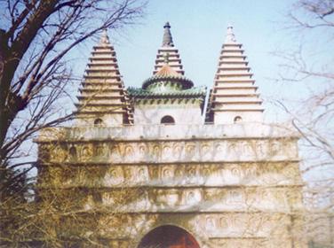 明·海淀区真觉寺金刚宝座塔