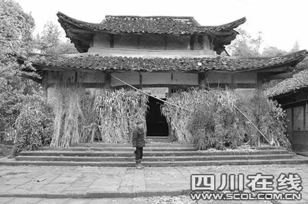 四川省广安市岳池县惊现一座明代寺院建筑(图)