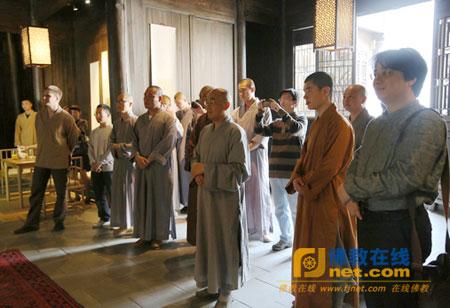 第二届杭州佛学院艺术院师生书画展在法云阿缦开幕