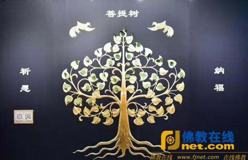 许愿菩提树背景墙