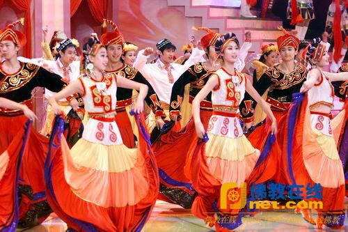 少数民族歌舞(资料图)-春晚上必备的少数民族歌舞节目