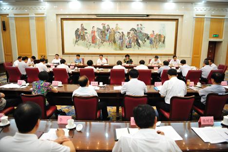 山东省宗教工作领导小组会议在济南召开